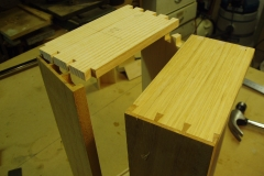 dovetail drawer fronts